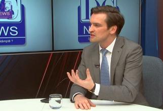 Dr Andrei Baciu, secretar de stat în Ministerul Sănătății. Foto: DC Medical