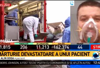 Pacientul a vorbit în direct la Antena 3
