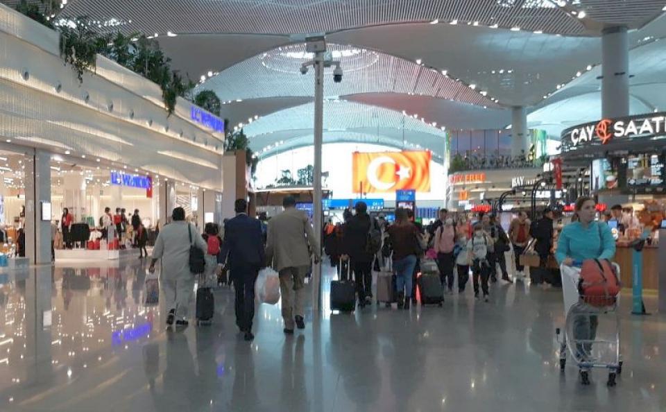 Aeroportul din istanbul este cel mai mare din Europa, în acest moment. FOTO: DC Medical