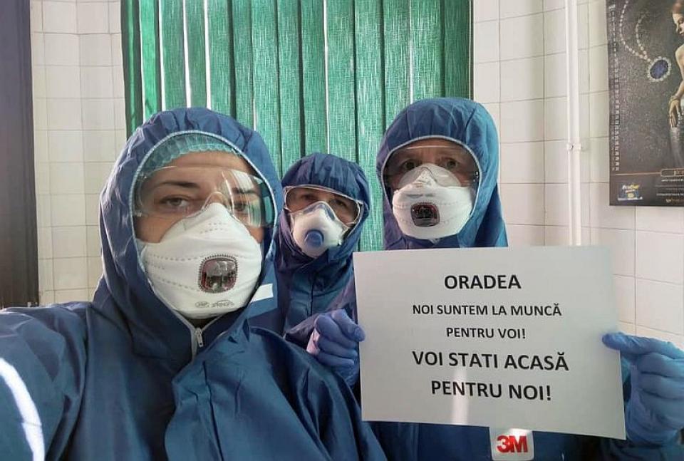 Apelul medicilor infecționiști din Oradea