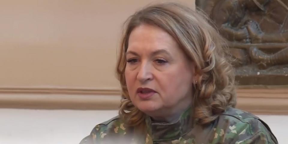 Generalul maior, medic, conf univ, dr. Florentina Ioniță-Radu