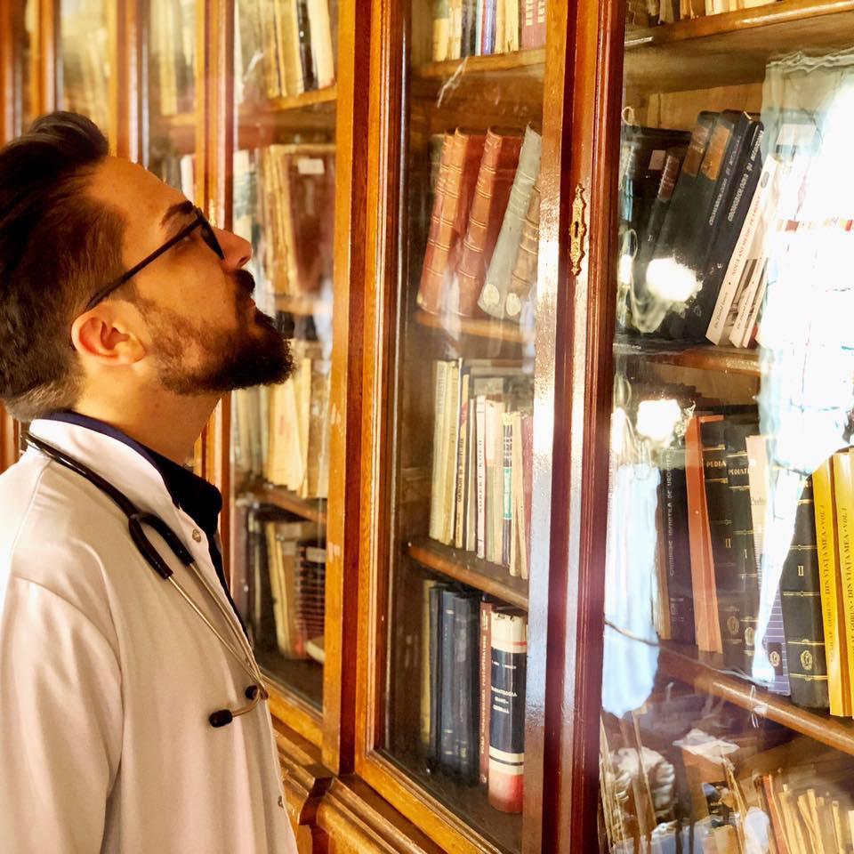 Mirea Ioan Alexandru, Președintele Societății Multidisciplinare a Medicilor Rezidenți. Foto: Facebook