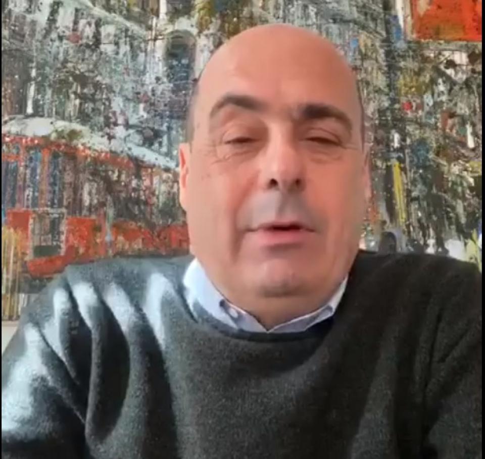 Nicola Zingaretti, infectat cu noul coronavirus