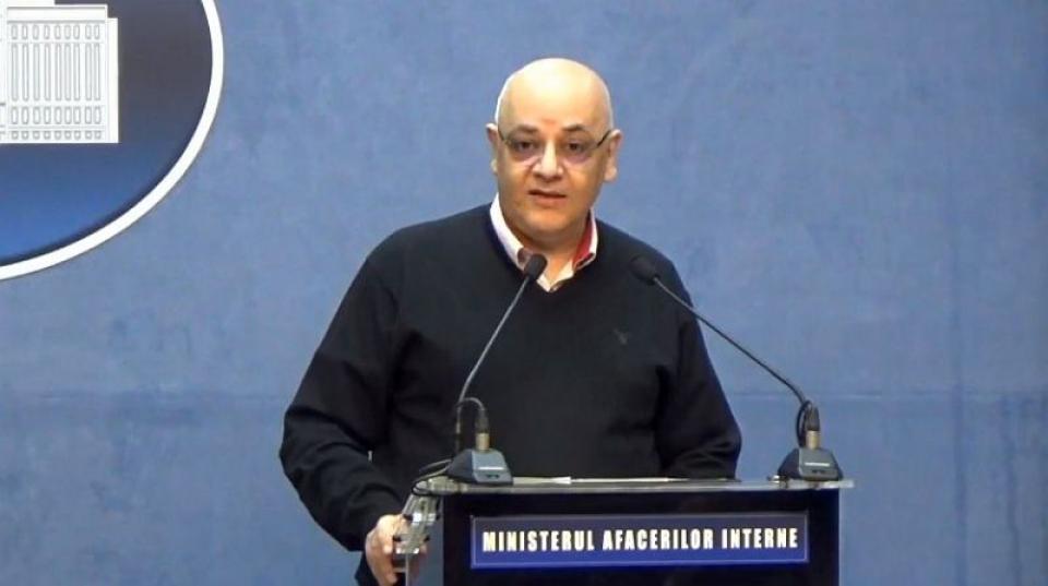 Secretarul de stat dr Raed Arafat