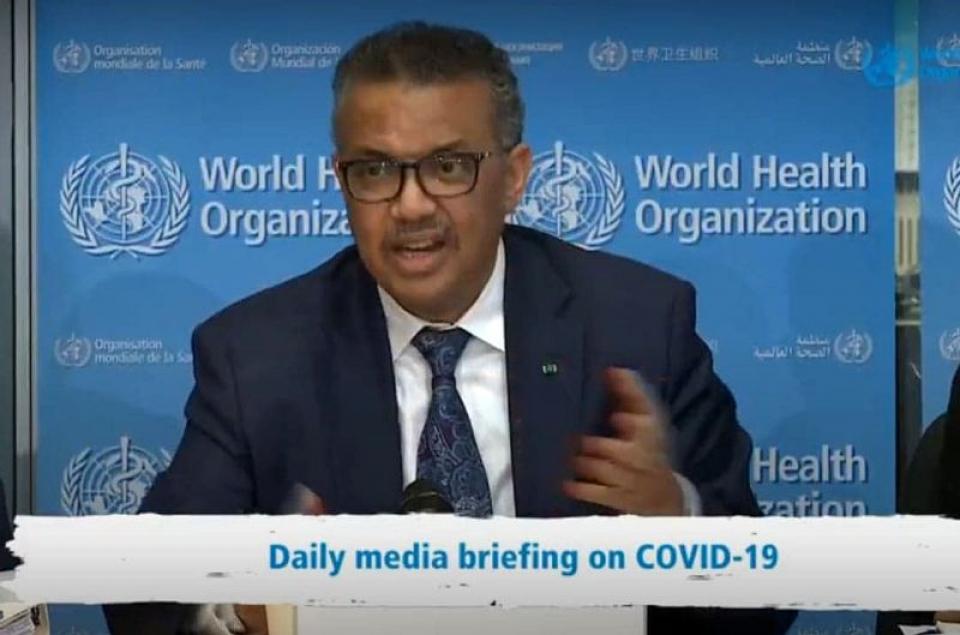 Dr Tedros Adhanom Ghebreyesus, directorul OMS