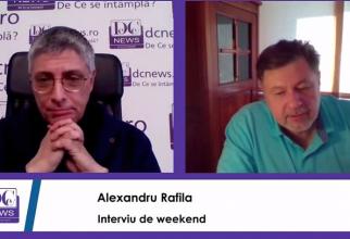 Jurnalistul Val Vâlcu și prof dr Alexandru Rafila, într-o discuție de weekend