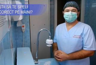 Chirurgul ortoped pediatru Florin-Daniel Enache, de la SJU Constanța