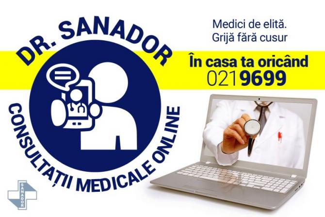 SANADOR - consultații medicale online