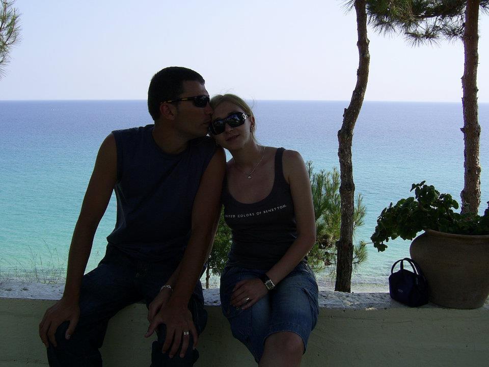 dr Ciprian Ghilic și sotia sa. Foto: Facebook