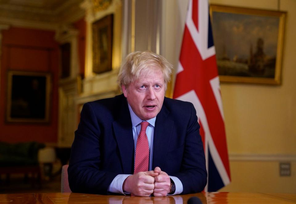 Boris Johnson Foto Facebook