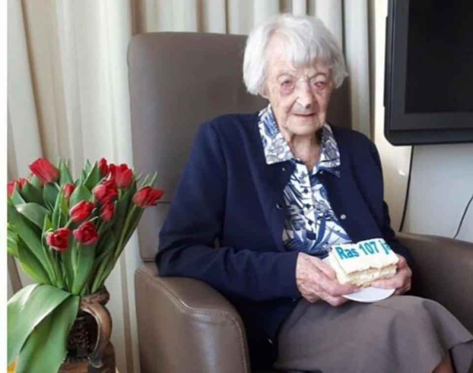 Cornelia Ras, 107 ani, Foto Facebook