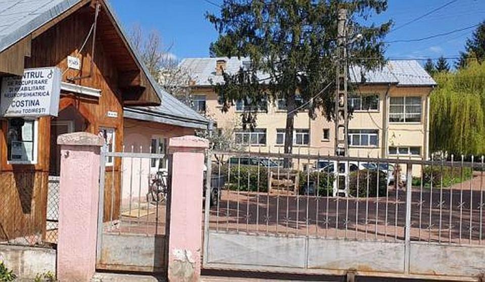 Centrul de Reabilitare Costâna, Suceava. Foto: Monitorul de Suceava