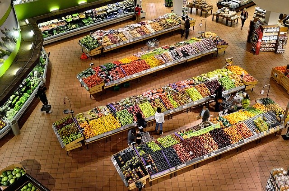 Cumpărături la supermarket  FOTO: pixabay