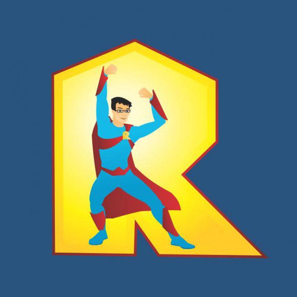 Retman, personajul central al desenelor animate terapeutice  FOTO: Facebook Retman