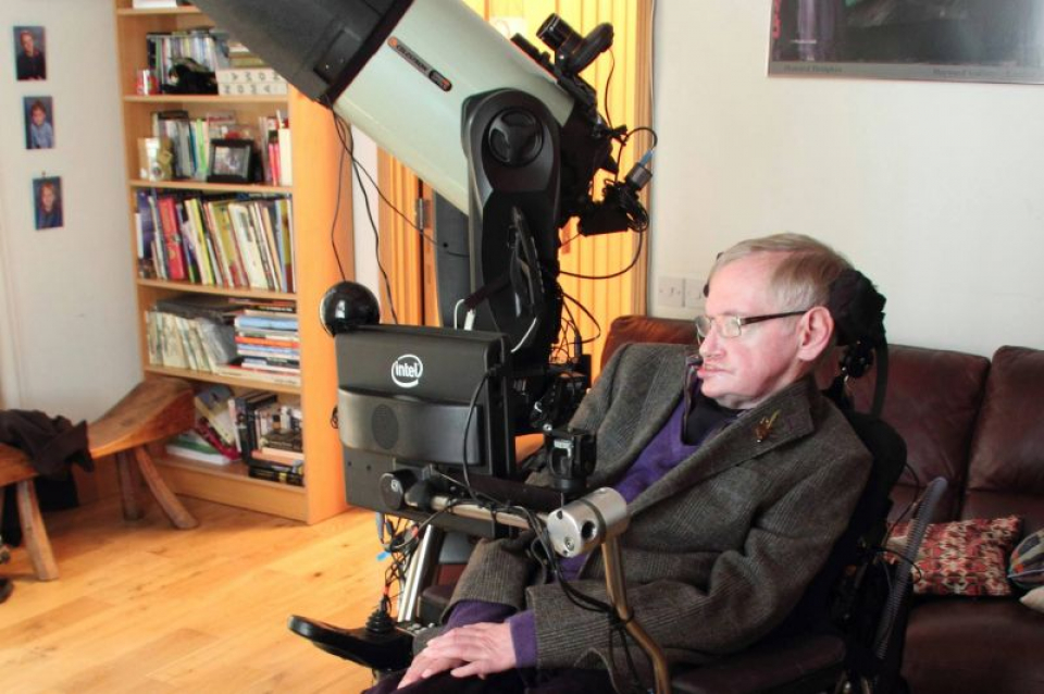 Stephen Hawking. Foto: Facebook