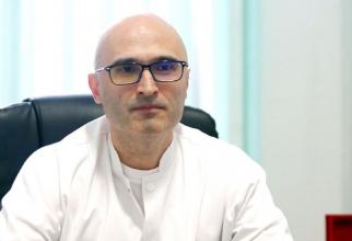 Dr Cristian Oancea, noul manager al Spitalului de Boli Infecțioase din Timișoara. Foto: Facebook