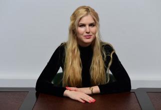 Psihologul Gabriela (Culda) Groza  FOTO: arhivă personală