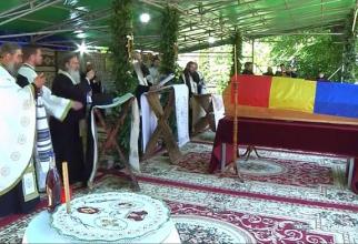 Slujba de înmormântare a ÎPS Pimen. Foto: Live Trinitas TV