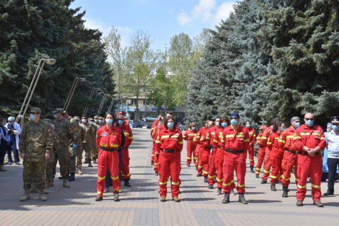 Echipa plecată în Republica Moldova. Foto: Ministerul Sănătății