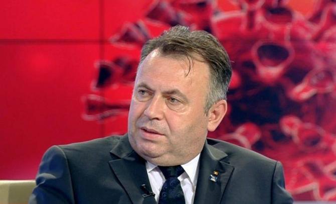 Ministrul Sănătății Nelu Tătaru  FOTO: captură Antena 3