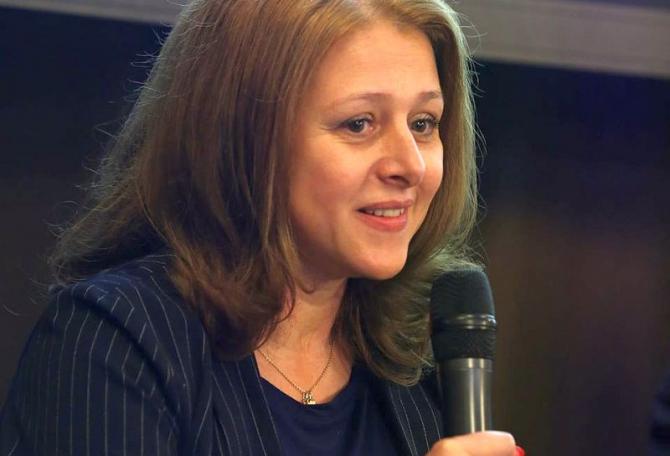 Dr Simona Pârvu. Foto: Facebook/arhiva personală