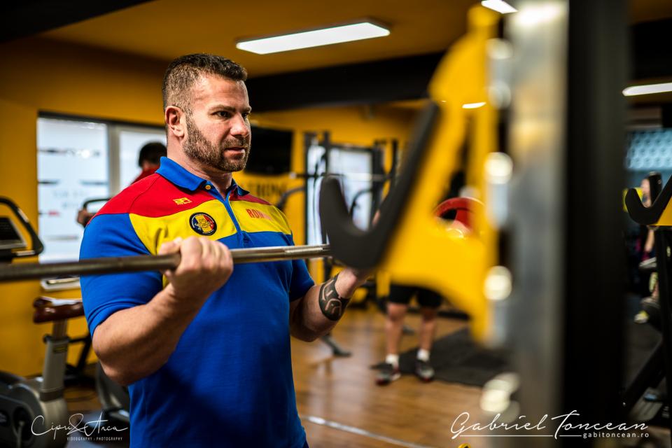 Șeful Gabriel Toncean, Șeful Federației Române de Culturism și Fitness, FOTO: Arhiva personala