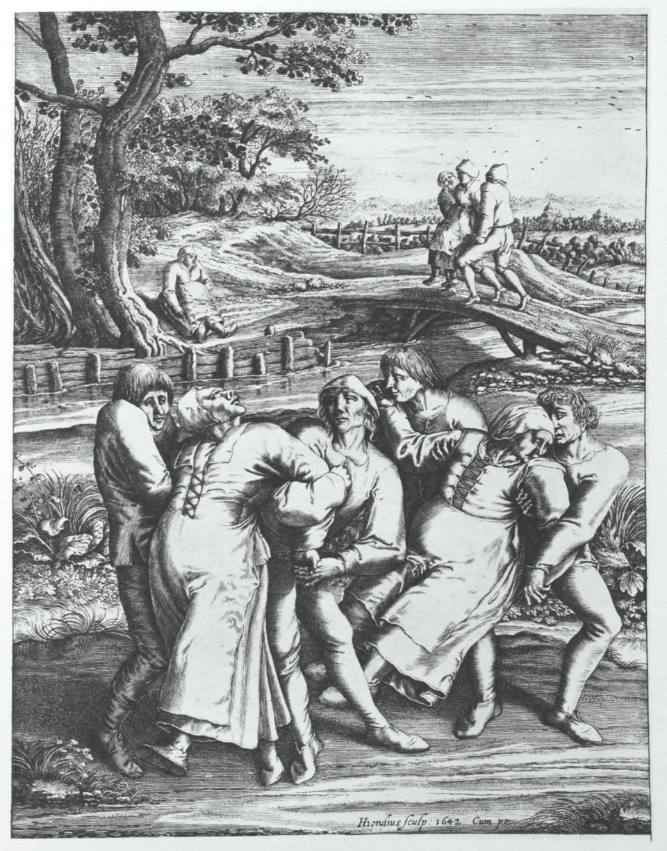 Desen realizat de Pieter Brueghel in 1564. Foto: Wikipedia
