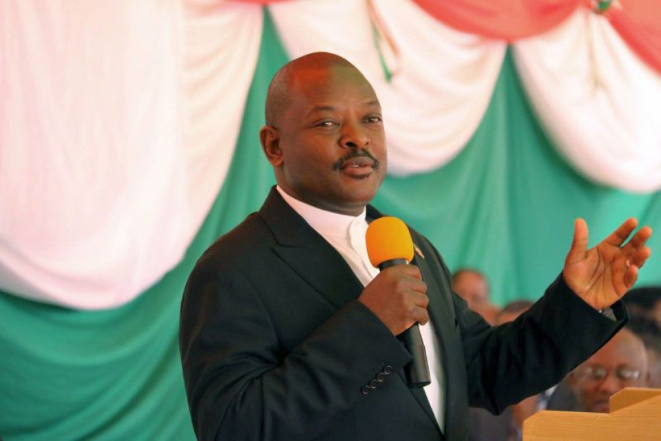 Pierre Nkurunziza. Foto: Facebook/pagina oficiala