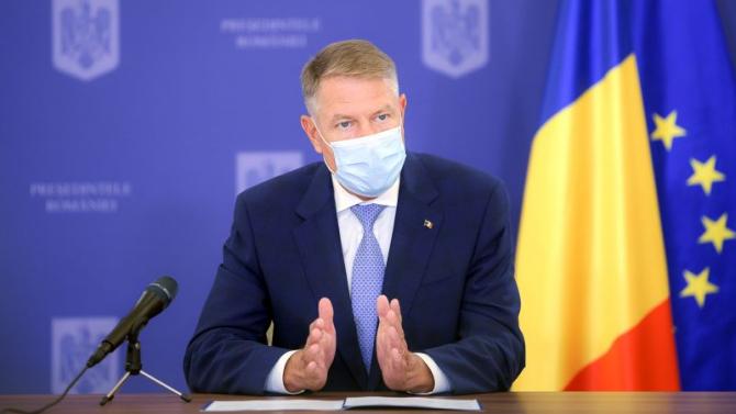 Președintele Klaus Iohannis. Foto: presidency.ro