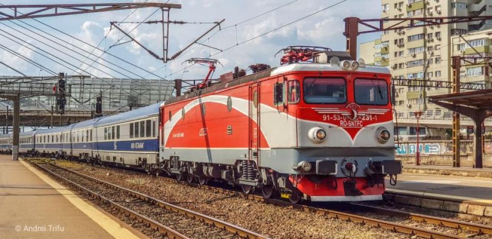 Tren CFR. Foto: Facebook CFR/Andrei Trifu
