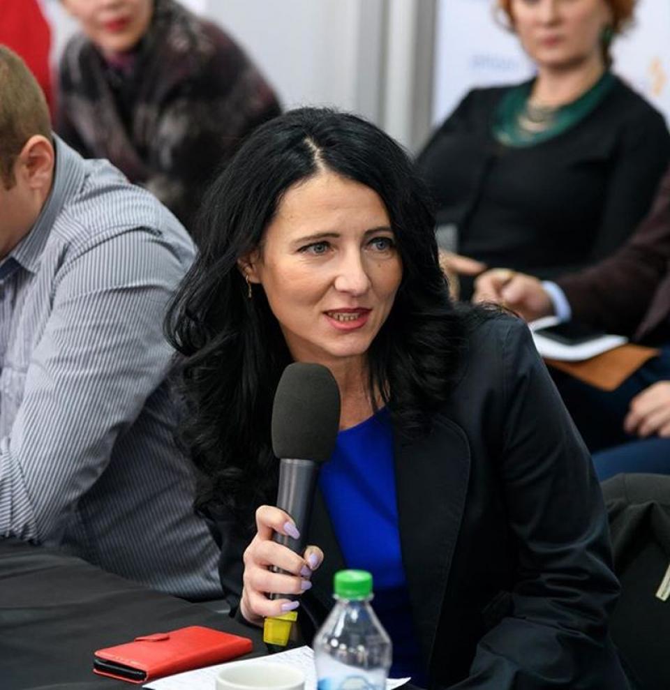 Ileana Ștefan (ASPERO). Foto: Facebook/arhiva personală
