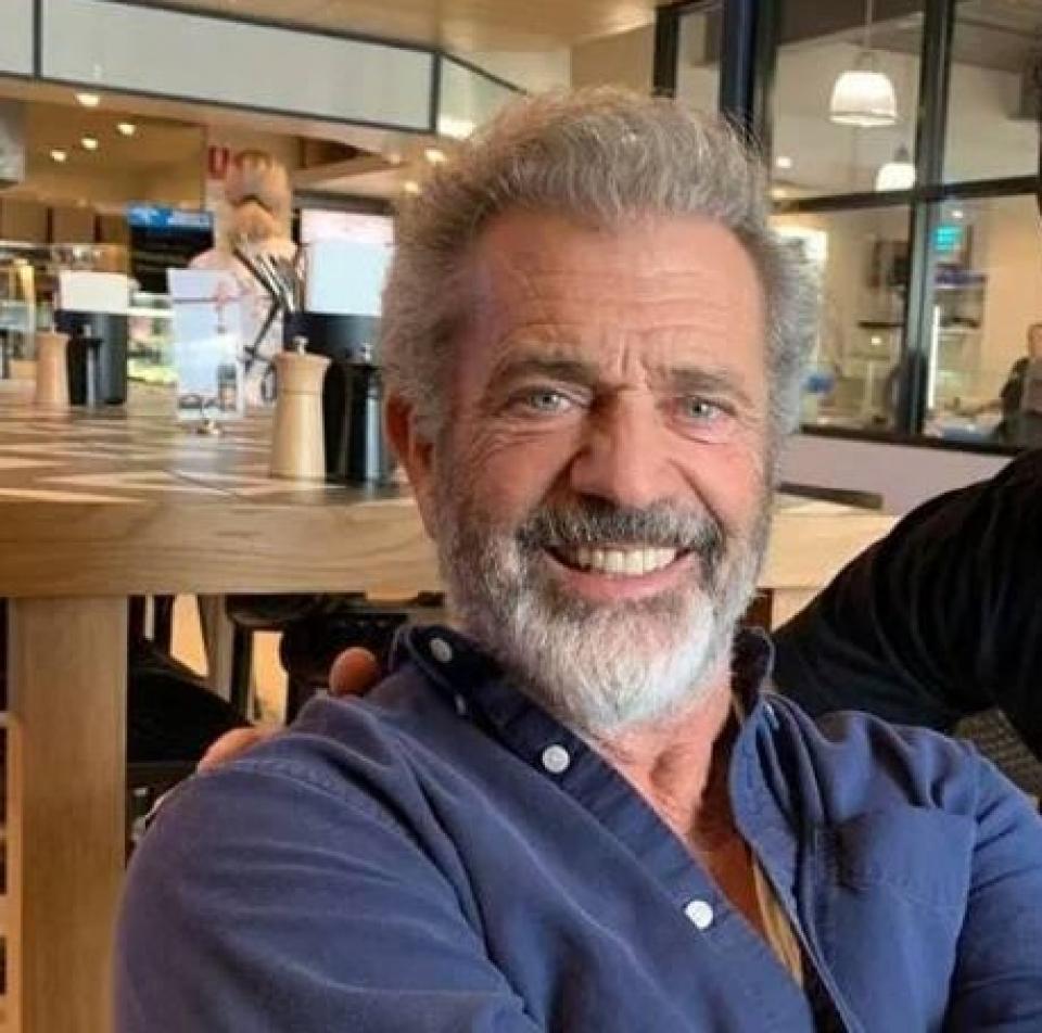 Mel Gibson, foto Facebook