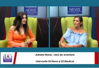 Actrița Adriela Morar, la Interviurile DC News și DC Medical