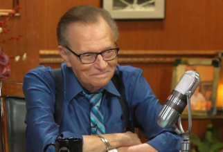 Larry King. Foto: Facebook / pagina personală
