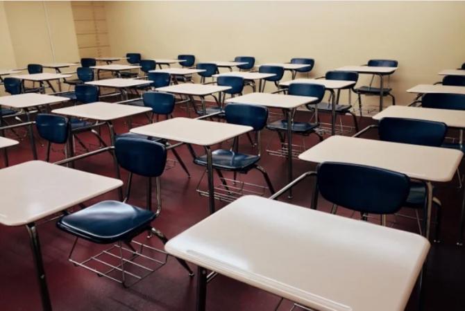 An școlar în pandemie