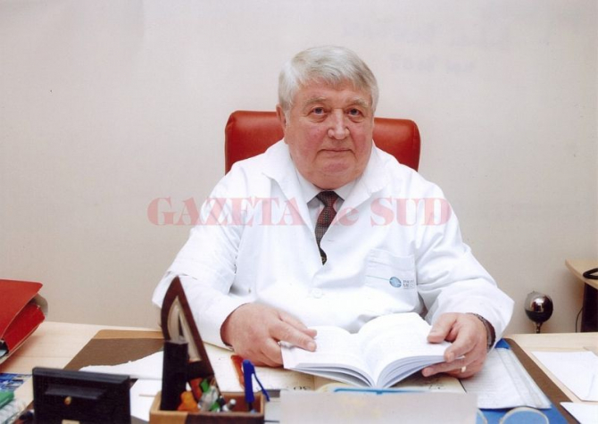 Prof univ dr Andrei Bondari. Foto: Gazeta de Sud
