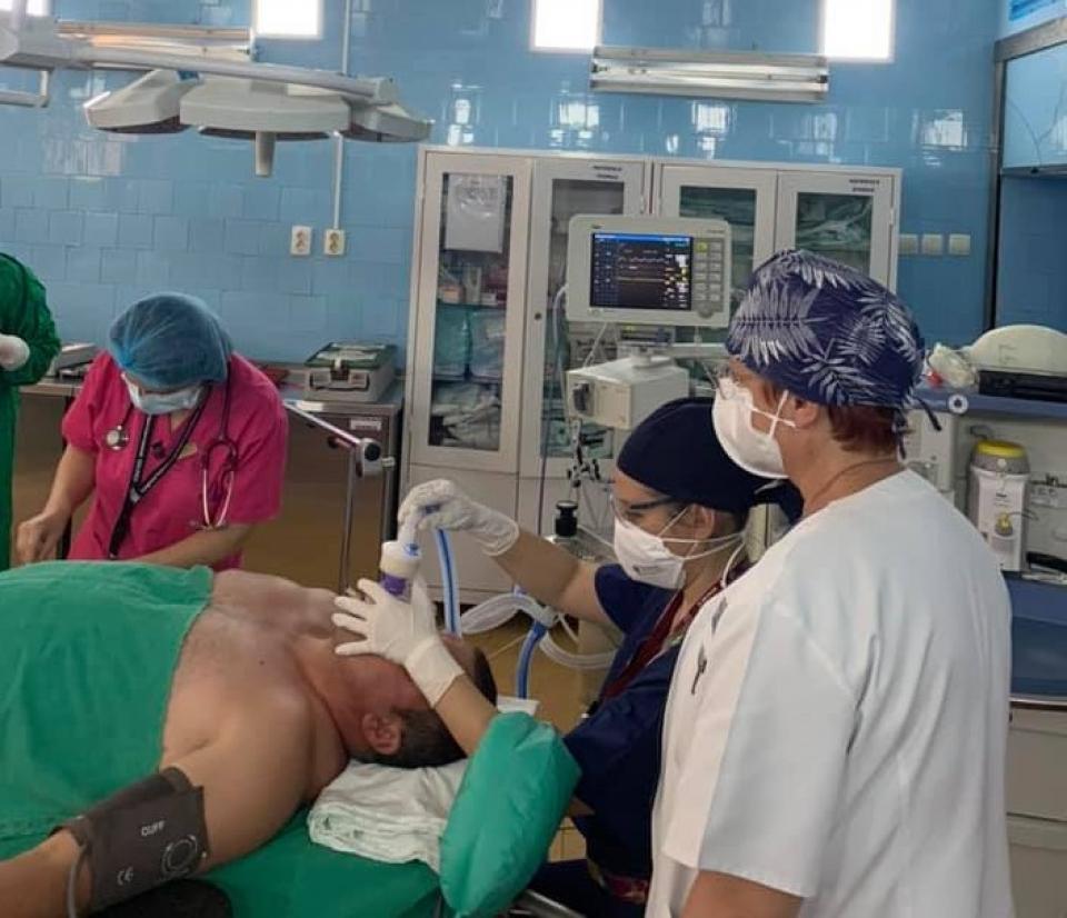 FOTO: Secția ATI a Spitalului Județean de Urgență Galați