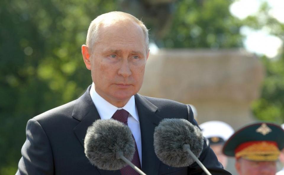 Președintele Rusiei, Vladimir Putin. Foto: kremlin.ru