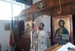 """preotul militar Radu Cosmin-Bogdan. Foto: """", a transmis și colectivul Spitalului Clinic Militar de Urgenţă """"Dr. Victor Popescu"""", Timişoara"""