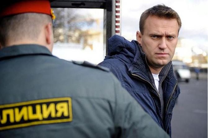Opozantul rus Alexei Navalnîi. Foto: Facebook / pagina personală