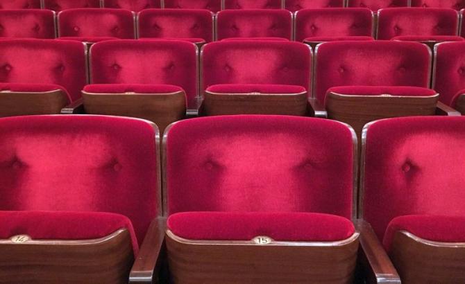 Sală de cinema, teatru. Foto: Pixabay