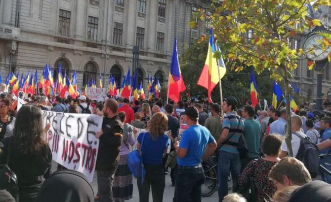 Protest Piața Universității