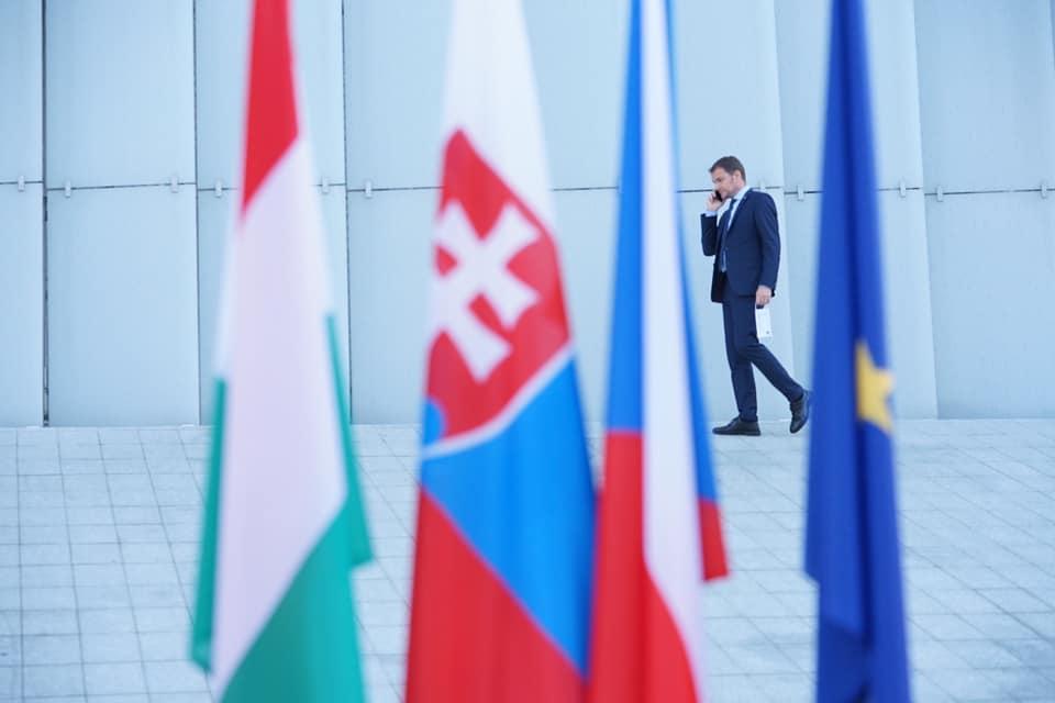 premierul  Slovaciei, Igor Matovic. Foto Facebook.