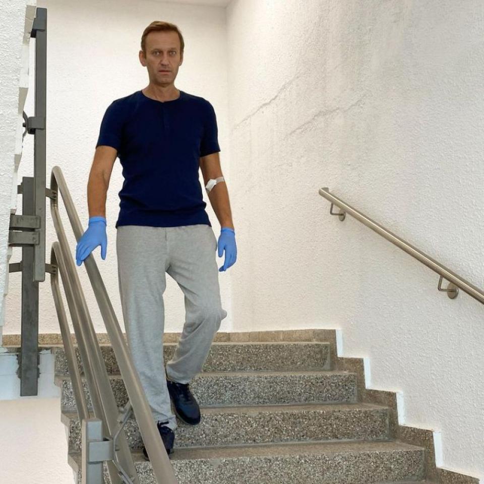 Alexei Navalnîi. Foto: Facebook / pagina personală