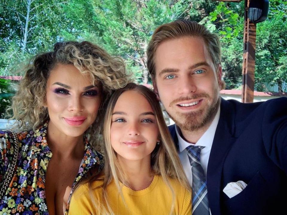Alina, Ilan Laufer și fiica lor Karina. Foto: Facebook / pagina personală
