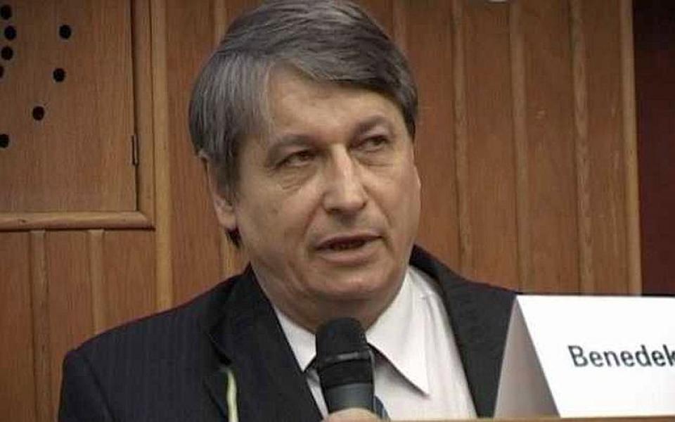 Prof dr Benedek Istvan. Foto: City TV Targu Mures
