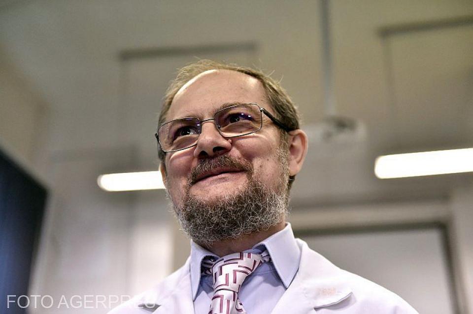 Prof dr Mircea Ioan Popa. Foto: Agerpres