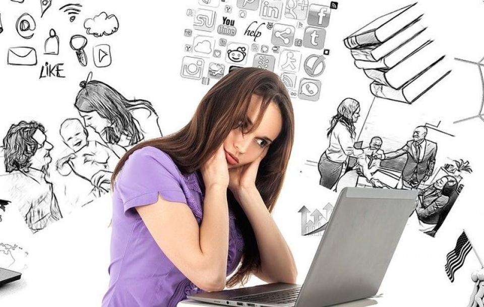 Stres și anxietate     Foto: Pixabay