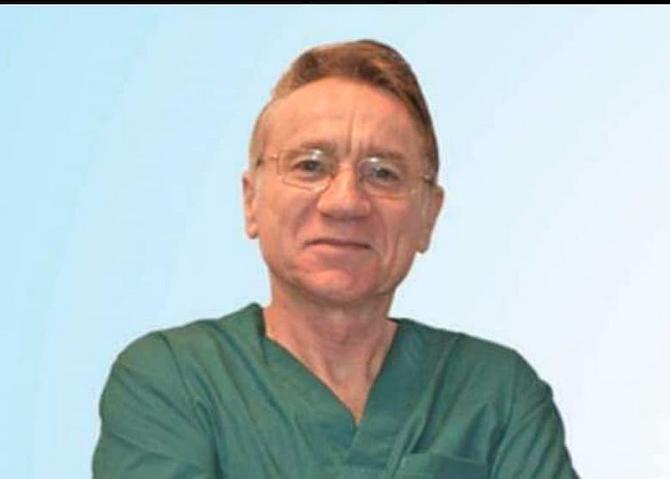 Prof. dr. Dan Gabriel Mogoș a încetat din viață, infectat cu noul coronavirus. Foto: Facebook