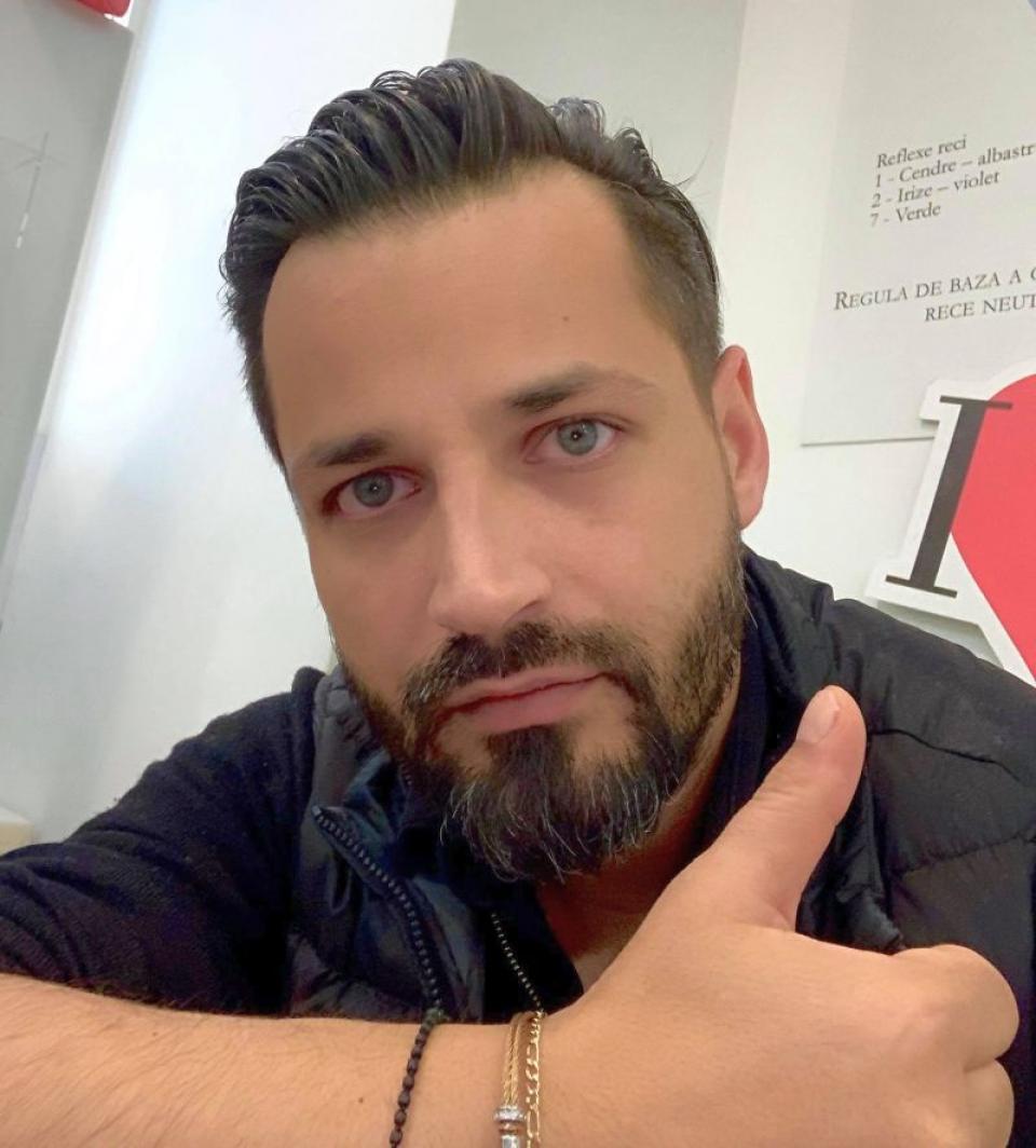 Adrian Niculescu. Foto: Facebook / arhiva personală